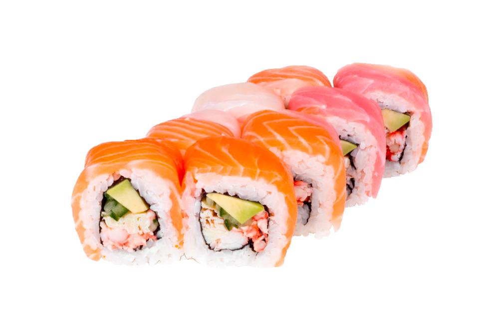 радуга большие суши